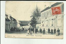 77 - Seine Et Marne - Mitry - Rue De Paris - Enfants - école -  -Réf.111 - Mitry Mory