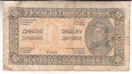 1600  SLOVENIJA   --EX-YU     10  DINARA  1944 - Slovenia