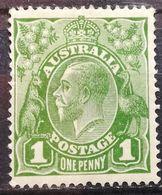 Australia 1923 MH King George V Single Watermark - 1913-36 George V : Autres Motifs