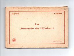 """ENFANT . """" LA JOURNÉE DE L'ENFANT """" . ILLUSTRATEUR J. GOUPPY . ANGE . 12 CARTES POSTALES . Détail Scans - Réf. N°18151 - - Collezioni & Lotti"""