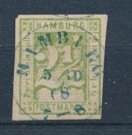 Hamburg 1864  Mi: 9 (Gebr/used/obl/o)(3407) - Hamburg