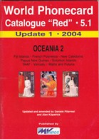 """World Phonecard Catalogue """"Red"""" - 5.1, Oceania 2, Update 1 - 2004 - Phonecards"""
