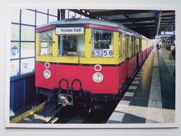 Berlin /  S Bahn Baureihe 475 - Treni