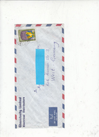 KUWAIT  1984 - Yvert  1041 Su Lettera Per Germania DDR - Kuwait