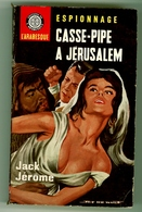 """Espionnage - Jack Jérôme - """"Casse-pipe à Jérusalem"""" - 1964 - Autres"""
