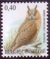 BE 2007 - N° 3737 XX Hibou Moyen-duc - 1985-.. Pájaros (Buzin)