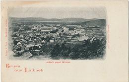 Gruss Aus Laibach Laibach Gegen Westen  Edit Turk Undivided Back - Slovénie