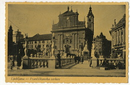 Ljubljana Franciskanska Cervek  P. Used - Slovénie