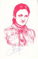 Autograph Maia Chiburdanidze, World Chess Champion 1978/91. Special Postmark Belgrade 1996 - Historical Famous People