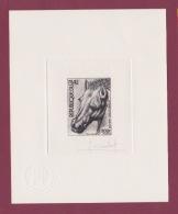 120318 REPUBLIQUE DU MALI épreuve D'artiste Timbre 200F LEONARD DE VINCI Tête De Cheval N° 291 De 1977 Jacques COMBET - Mali (1959-...)