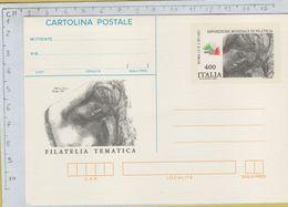 144158 Cartolina Postale Filatelia Tematica - 1981-90: Storia Postale