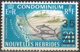 Nouvelles Hebrides 1970 Michel 296 Neuf ** Cote (2005) 1.20 Euro Bateaux De Pêche - Légende Française