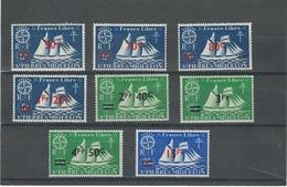 France  St Pierre Et Miquelon   N° 315  **  à  322 (8 Val. ) **    Val : YT  7,00 € - Ungebraucht
