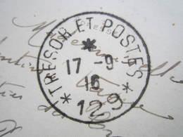 """1916 LYON STATUE LOUIS XIV Bellecour Cachet Militaire TRESOR ET POSTES """"129"""" PERTUIS - France"""