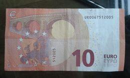 B#121 - 10 EUROS - U001E5 - CHARGE 06 - EURO