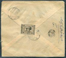 Persia Iran Cover + Letter Kaohan - Yedz - Iran