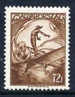 HUNGARY 1933 Airmail 72 F.. MNH / **.  Michel 507 - Hungary
