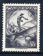 HUNGARY 1933 Airmail 48 F. MNH / **.  Michel 506 - Hungary