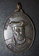 """Magnifique Pendentif Médaille Religieuse Médaillon """"Gran Talisman De Nostradamus"""" Religious Medal - Religión & Esoterismo"""
