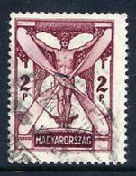 HUNGARY 1933 Airmail 2 Pengö, Used.  Michel 509 - Hungary
