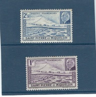 France  St Pierre Et Miquelon   N° 210  ** Et N° 211  **      Val : YT   4,20 € - Nuovi