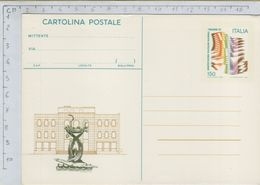 144174 Cartolina Postale Riccione 81 150 Lire - 1981-90: Storia Postale