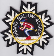 Ecusson Tissu - Grand Ballon D'Alsace (67) - Blason - Armoiries - Héraldique - Stoffabzeichen