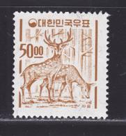 COREE DU SUD N°  305 ** MNH Neuf Sans Charnière, Filigrane A, TB (D5751) Cerfs - Korea, South