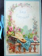 CALENDRIER DE BALS ET COTILLON CHARMANT PETIT CATALOGUE D'ACCESSOIRES DE COTILLON POUR L'ANNEE NADAUD 1881 - Programmes