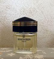 """Miniature """"BOUCHERON""""  Eau De Toilette Pour Homme 5 Ml Sans Boîte - Miniatures Modernes (à Partir De 1961)"""