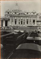 CP Pèlerinage Des Petits Séminaristes De France à Rome Septembre 1057 CAR CHAUSSON RENAULT BERLIET - Roma (Rome)