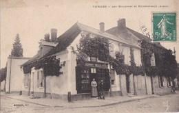 02 VORGES Par BRUYERES Et MONTBERAULT  TABAC N° 284  Maison MONORY MAJOT Mercerie Timbre - Unclassified