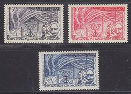 TAAF 1957 IGY 3v ** Mnh (37888) - Franse Zuidelijke En Antarctische Gebieden (TAAF)