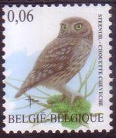 BE 2007 - N° 3672 XX  - Chouette Chevêche - BUZIN - 1985-.. Pájaros (Buzin)
