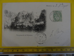 MOUSTIERS Le 8 Septembre 1901Chapelle Notre-Dame De Beauvoir Edition Achard - France