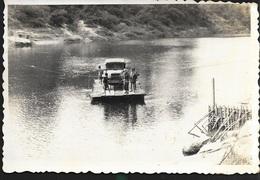 Tonkin Vietnam Indochine Laos 1949 Débarquement Nam Theune Theun Militaire Col Na Kay Traversé Gué Nam Kata Keng Deng - Vehicles