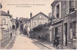 76. GRAVILLE-SAINTE-HONORINE. La Rue Montmorency. Les Trois Cents Marche - Francia