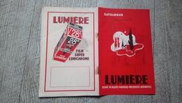Catalogue Lumière Films Plaques Papiers Produits Appareils Photos - Photography