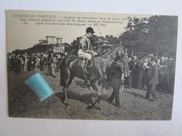60 Oise Chantilly Courses Réunion De Printemps Prix Diane 1908 Sauge Pourprée Monté Milon Henry Sport Champ De Course - Chantilly