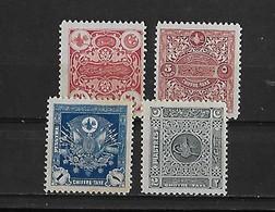 Turquie Yv. Taxe 55-58 - 1921-... République