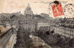 Panorama Square D'anvers Vers Le Sacré-coeur écrite1919 Lot 1005 - Sacré Coeur