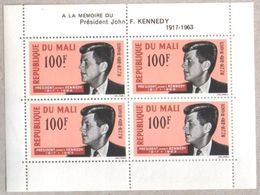 Mali Selection Of Blocks Of Stamps Including Kennedy Arts Museum Livestock MNH - Mali (1959-...)