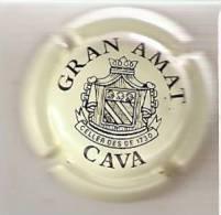 PLACA DE CAVA GRAN AMAT  (CAPSULE) CREMA - Placas De Cava
