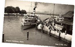 Bregenz Bodensee Hafen Suisse Timbre PRO PATRIA 1955 Con Lamella - Andere