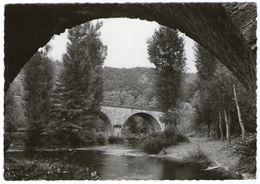 CPSM   12    MONTEILS     1968      LES DEUX PONTS - Ponts
