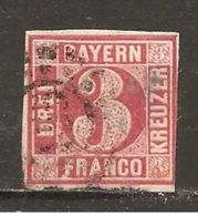 Baviera. Nº Yvert  10  (usado) (o) - Bavaria