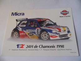 - Rallyes - Rally - Micra - Nissan - 24 H De Chamonix 1998 - A Voir - Rallyes