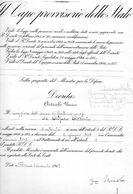 1948 CAPO PROVVISORIO DELLO STATO - Decreti & Leggi