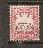 Baviera. Nº Yvert  50  (usado) (o) - Bavaria