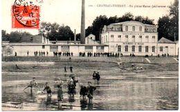 En Pleine Marne Secheresse 1911 Carte En Trés Bon état - Chateau Thierry